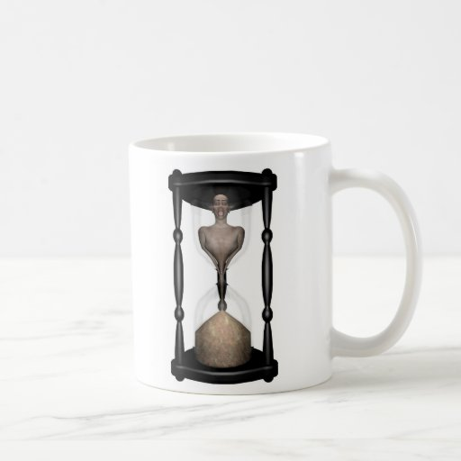 Hora-hombre Taza Básica Blanca