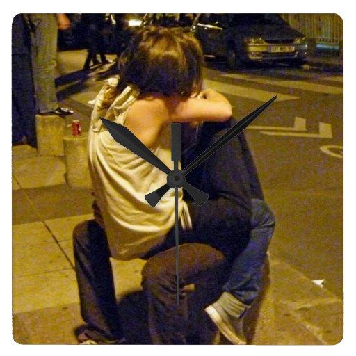 Hora para el amor joven, París Reloj