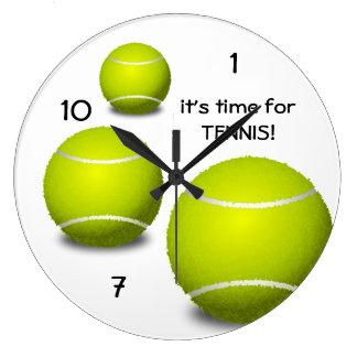 Hora para el reloj del tenis