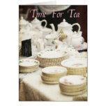 Hora para el té #2 tarjetas