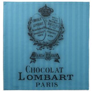 Hora para el té #3 Chocolat Servilletas