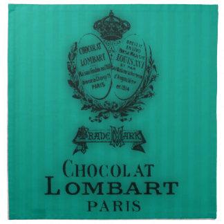 Hora para el té #4 Chocolat Servilleta