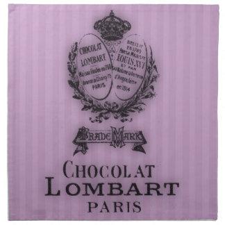 Hora para el té #6 Chocolat Servilleta