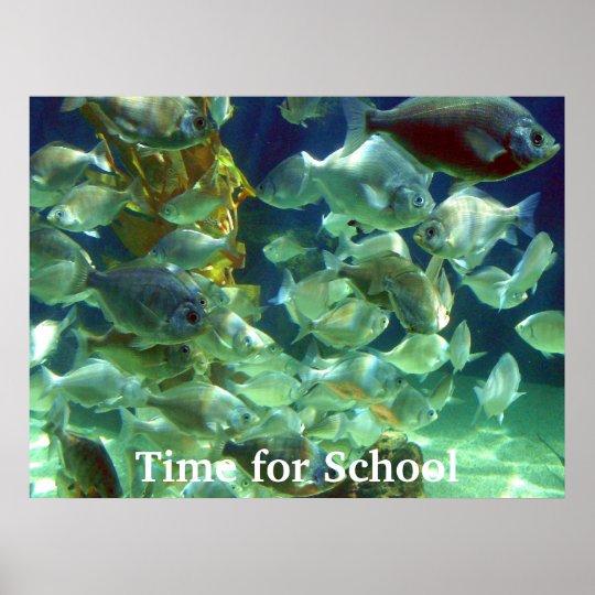 Hora para la escuela, hora para la escuela póster