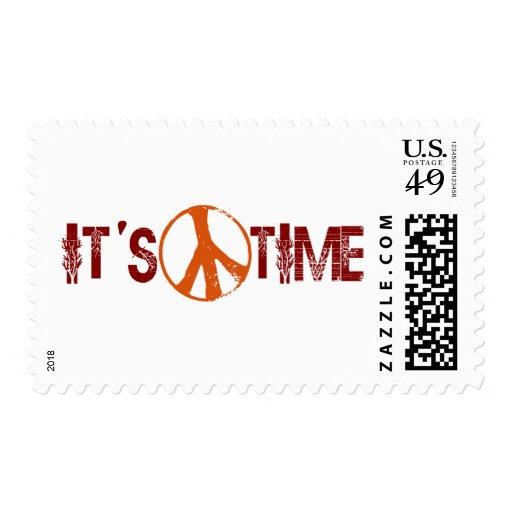 Hora para la paz sello