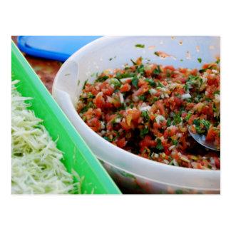 Hora para la postal del Tacos de pescados