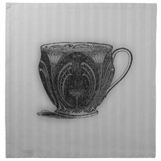 Hora para la taza de té del té #5 servilleta de papel
