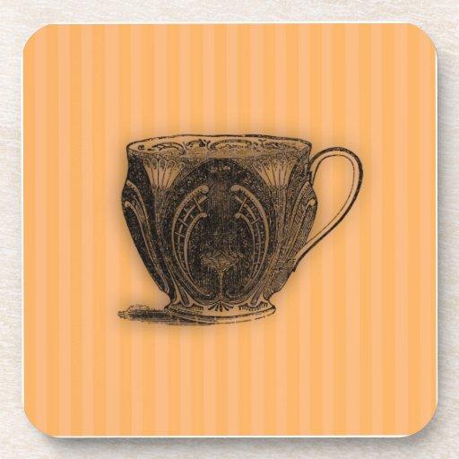 Hora para la taza de té del té #7 posavasos de bebidas