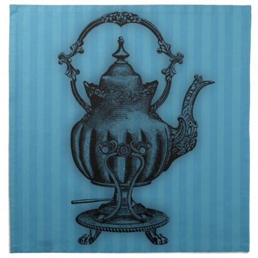 Hora para la tetera del té #3 servilleta de papel