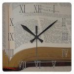 Hora para los salmos relojes de pared