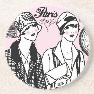 Hora para París Posavasos Manualidades