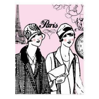 Hora para París Tarjeta Postal