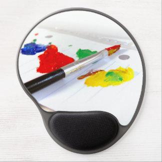 Hora para pintar alfombrilla gel