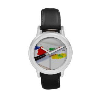 Hora para pintar relojes de mano