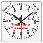 Hora para un reloj del ragchew