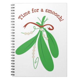 ¡Hora para un Smooch! Cuadernos