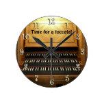 ¡Hora para un toccata! reloj de la pared del organ