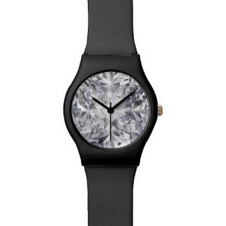 hora preciosa del diamante reloj