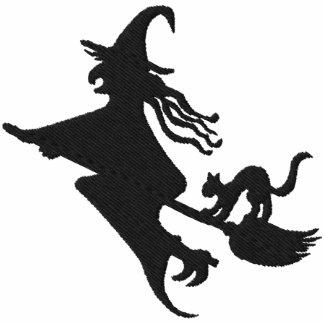 Hora Witching Sudadera Bordada Encapuchada