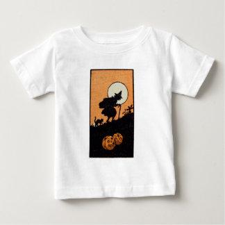 Hora Witching (tarjeta de Halloween del vintage) Tshirt