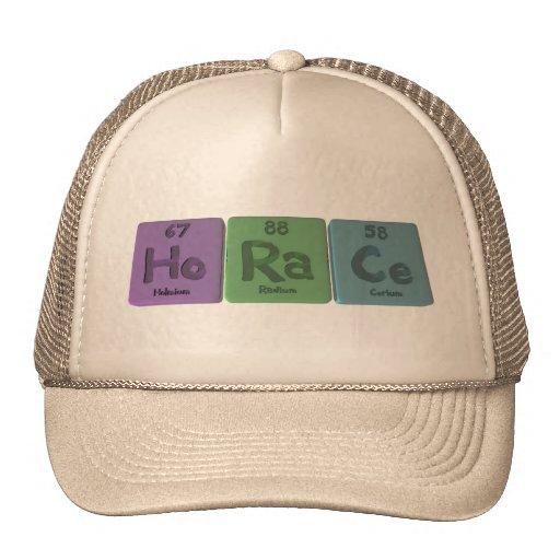 Horace  as Holmium Radium Cerium Mesh Hats