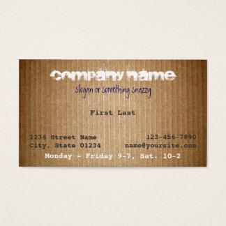 Horace Business Card