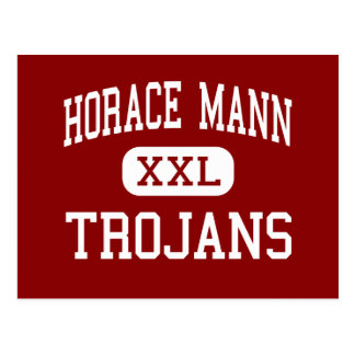 Horace Mann - Trojans - Middle - Miami Florida Postcard
