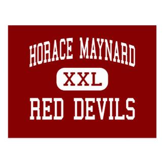Horace Maynard - Red Devils - Maynardville Postcard