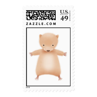 Horace the Hamster Postage Stamp