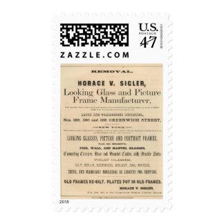 Horace V Sigler Postage