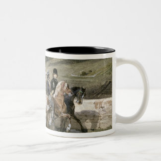 Horace Vernet and his Children Two-Tone Coffee Mug