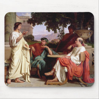 Horace, Virgil and Varius Mouse Pad