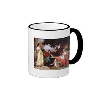 Horace, Virgil and Varius Ringer Mug