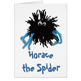 Horacio la araña tarjetón