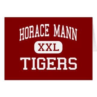 Horacio Mann - tigres - centro - San Antonio Tejas Tarjeta
