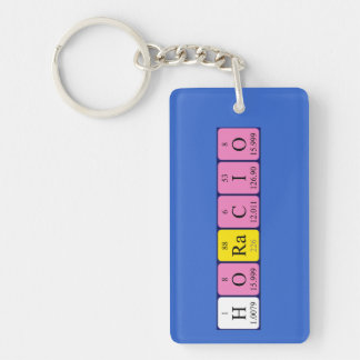Horacio periodic table name keyring