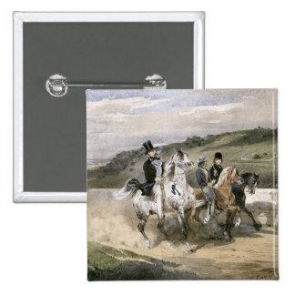 Horacio Vernet y sus niños Pin Cuadrado