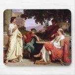 Horacio, Virgil y Varius Alfombrillas De Ratones