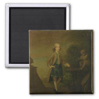 Horacio Walpole, envejecido 10, 1727-8 Imán Cuadrado