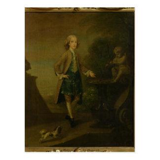 Horacio Walpole envejecido 10 1727-8 Postales