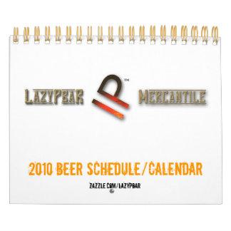 Horario 2010/calendario de la cerveza calendarios de pared