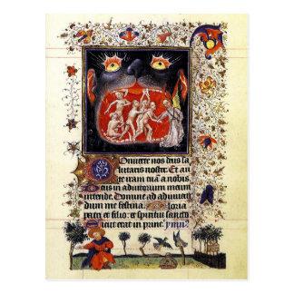 Horas de Catherine de Cleves Tarjetas Postales