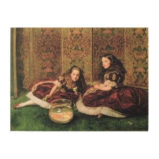 Horas del ocio, 1864 cuadros de madera