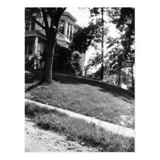 Horatio Alger's house in Natick, Massachusetts Postcard