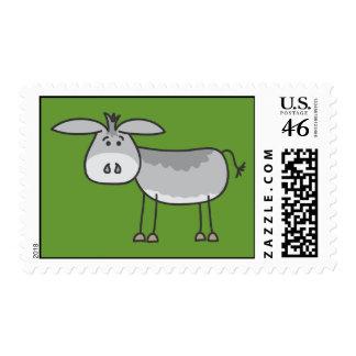 Horatio Donkey Postage Stamp