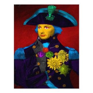 Horatio Nelson Pop Art Letterhead