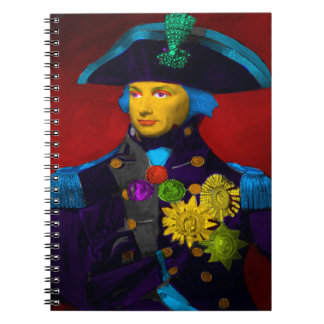 Horatio Nelson Pop Art Notebook