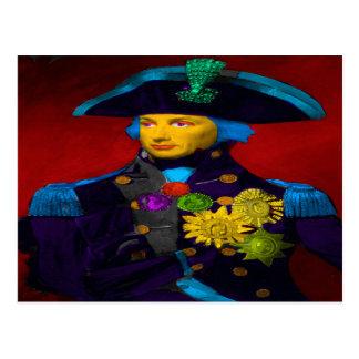 Horatio Nelson Pop Art Postcard