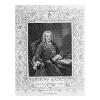 Horatio Walpole Postcard