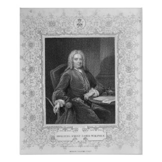 Horatio Walpole Poster